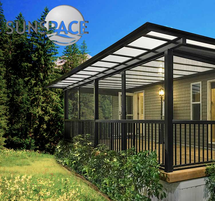 Sunspace Sunrooms offering bug-free evenings with an open feel.